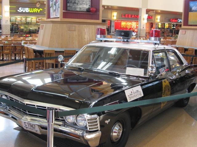 1967 vintage cop fargo cop car.