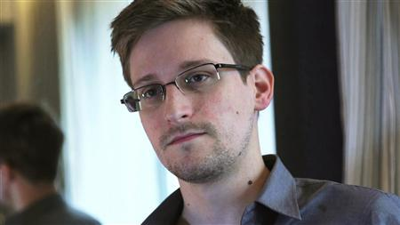 NSA whistleblower Edward Snowden, an analyst with a U.S. defence contractor, is seen in this still image taken from video during an interview by The Guardian in his hotel room in Hong Kong June 6, 2013. Credit: Reuters/Glenn Greenwald/Laura Poitras/Courtesy of The Guardian/Handout via Reuters