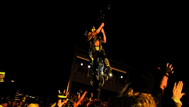 #1 - Paul Stanley flew over our heads...you can't top that