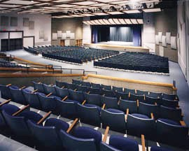 The Creske Center auditorium in Mosinee