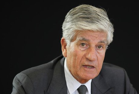 Maurice Levy, French advertising group Publicis Chief executive, attends a Reuters Global Media and Technology Summit in Paris June 12, 2012