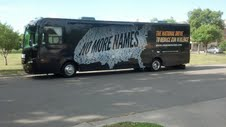 Bloomberg tour bus