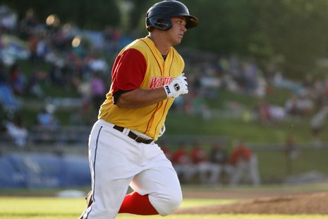 West Michigan Whitecaps IF Dean Green (photo courtesy West Michigan Whitecaps)