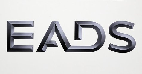 Logo of EADS is seen at the European aerospace and defence group EADS headquarters in Les Mureaux near Paris January 12, 2011. REUTERS/Charl