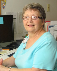 Barb Fee, CHC July 2013 Employee of the Month