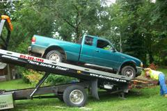suspect truck at end of pursuit photo provided by Vigo County Sheriff