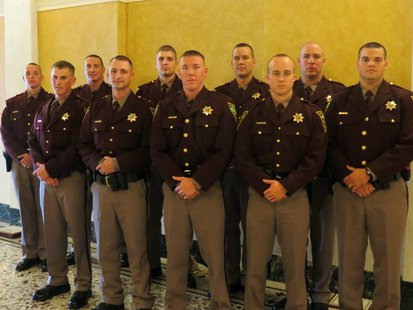 Recruit Class 53 recently joined the ranks of  the South Dakota Highway Patrol - Photo by SD Highway Patrol