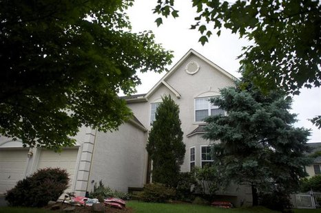 The house belonging to Lonnie and Karen Snowden, father and stepmother of NSA whistle-blower Edward Snowden, is seen in Upper Macungie Towns
