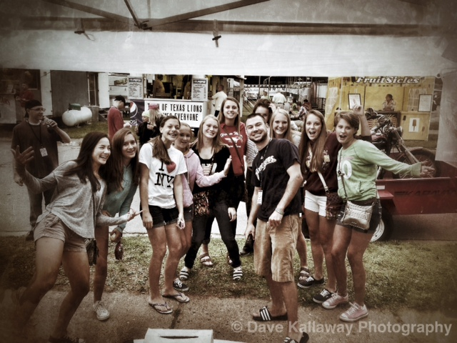 Mike Mathers and all the hot women at the Fair!!!