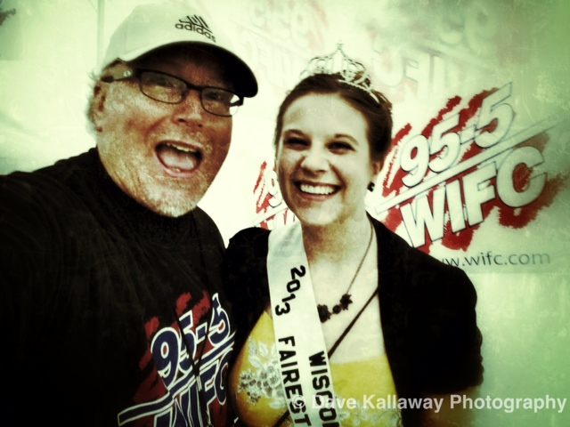 Dave Kallaway & the Fairest of the Fair--Taylor Woller!!