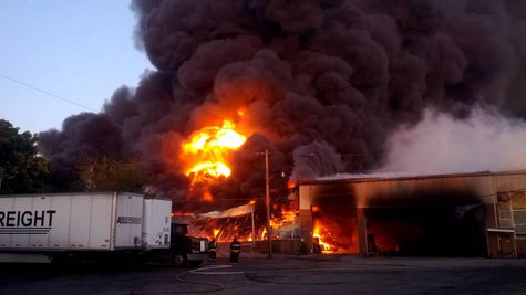 Fire At J&R Recycling In Hoopeston