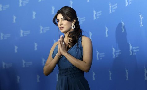 "Cast member Priyanka Chopra poses during a photocall to promote the movie ""Don - The King is back"" at the 62nd Berlinale International Film"