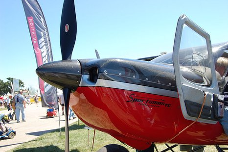 Plane shown during EAA's AirVenture in Oshkosh. (Photo by: Spartan7W/Creative Commons).