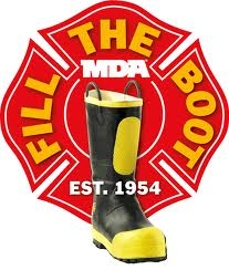 Muscular Dystrophy Association Fill The Boot campaign