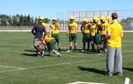 Bison Football First Fall Practice 19