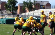 Bison Football First Fall Practice 9
