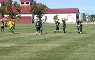 Bison Football First Fall Practice 8