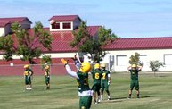 Bison Football First Fall Practice 6