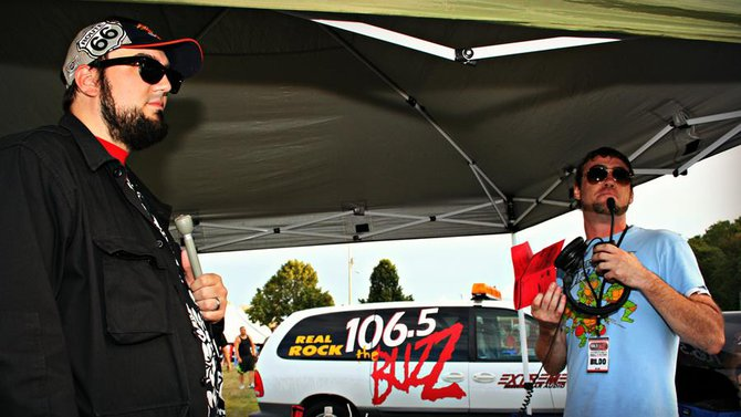 Otto and Billy from 106.5 The Buzz
