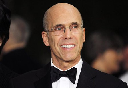 Producer Jeffrey Katzenberg, chief executive of DreamWorks Animation, arrives at the Academy of Motion Picture Arts & Sciences 4th annual Go