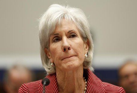 U.S. Department of Health & Human Services (HHS) Secretary Kathleen Sebelius testifies before a House Education and the Workforce Committee