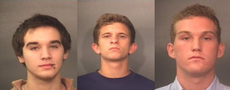 Christopher Hayden left Peter Tanoos II middle Tucker Ray right
