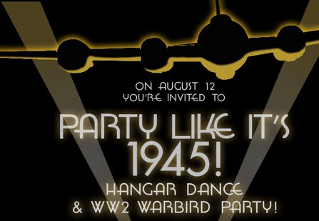 The Joe Foss Squadron of the Commemorative Air Force is putting on a WWII style hangar dance as an initial fund raiser for their unit on Monday, 12 August. (cafjoefoss.com)