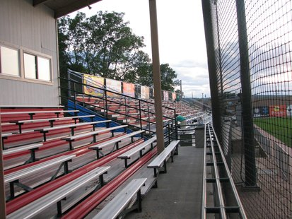 Athletic Park bleachers