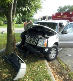 Western Avenue accident 8-5-13