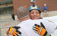 Charli Rappels Down Lambeau Field for Special Olympics 11