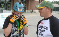 Charli Rappels Down Lambeau Field for Special Olympics 12