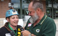 Charli Rappels Down Lambeau Field for Special Olympics: Cover Image