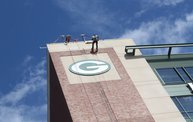 Tanner Rappels Down Lambeau for Special Olympics 2