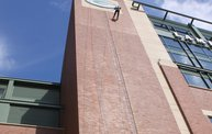 Tanner Rappels Down Lambeau for Special Olympics 4