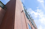 Tanner Rappels Down Lambeau for Special Olympics 6