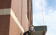 Tanner Rappels Down Lambeau for Special Olympics 8