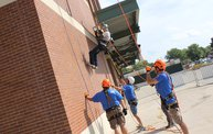 Tanner Rappels Down Lambeau for Special Olympics 7