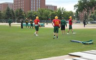 Bison Football Fall Practice - August 6, 2013 24