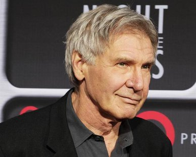 Actor Harrison Ford poses as he arrives at Target Presents AFI Night at the Movies in Hollywood April 24, 2013. REUTERS/Fred Prouser