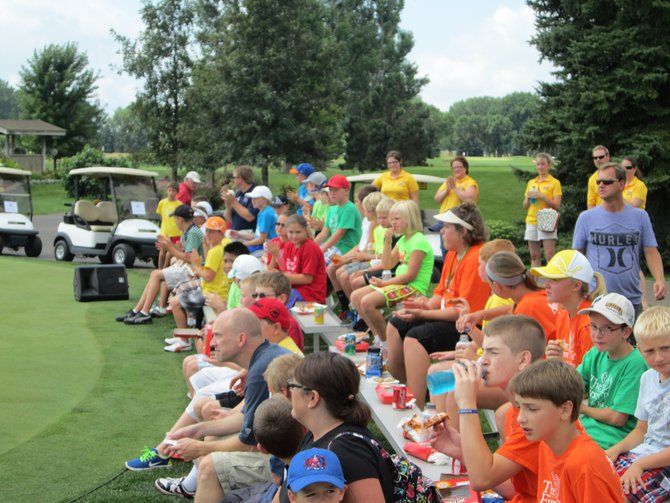 Kids golf clinic presented by Graham Tire