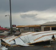 Storm damage 8-7-2013