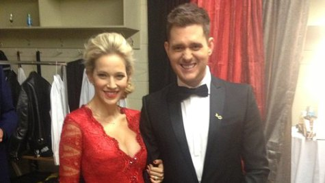 Image courtesy of Image Courtesy Michael Buble via Instagram (via ABC News Radio)