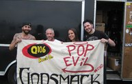 Q106 at Godsmack & Pop Evil (8-5-13) 3