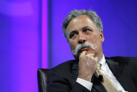 Chase Carey, deputy chairman, president, and COO of News Corporation participates in a panel session at The Cable Show in Boston, Massachuse