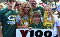 Pre-Season vs. Arizona :: Y100 Tailgate Party at Brett Favre's Steakhouse 15