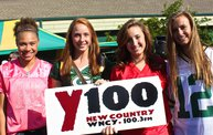 Pre-Season vs. Arizona :: Y100 Tailgate Party at Brett Favre's Steakhouse 3