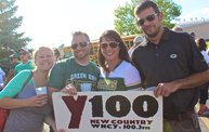 Pre-Season vs. Arizona :: Y100 Tailgate Party at Brett Favre's Steakhouse 7