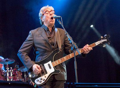 Graham Gouldman, co-founder of pop-rock band 10cc, plays at Fairport's Cropredy Convention, in Cropredy, southern England August 9, 2013. 10