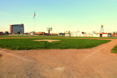 The old site of Tigers Stadium.