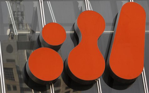 The BHP Billiton logo is seen at the company's head office in central Melbourne September 22, 2010. REUTERS/Mick Tsikas